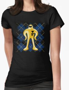 Gold Starman  Womens Fitted T-Shirt