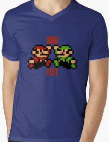 Bro Fist Mens V-Neck T-Shirt