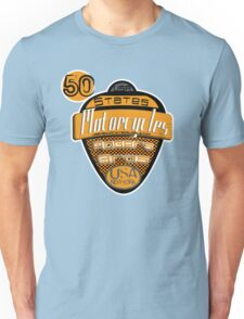 50 states of usa motorcycles by rogers bros T-Shirt