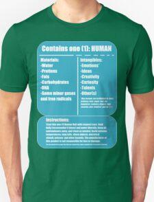 Human (blue) T-Shirt