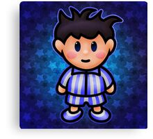 Ness in Pajamas Canvas Print