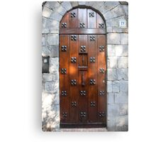 Door Number Nineteen Metal Print