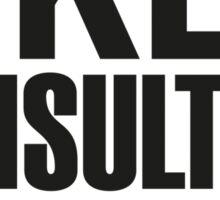 SHERLOCK - LIKES CONSULTING CRIMINALS Sticker