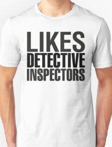 SHERLOCK - LIKES DETECTIVE INSPECTORS Unisex T-Shirt
