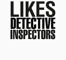 SHERLOCK - LIKES DETECTIVE INSPECTORS Womens Fitted T-Shirt