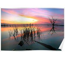 Loch Luna Sunset Poster
