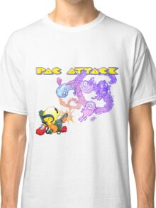Pac Attack Weathered Classic T-Shirt