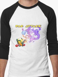 Pac Attack Weathered Men's Baseball ¾ T-Shirt