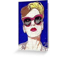Pop Girl Greeting Card