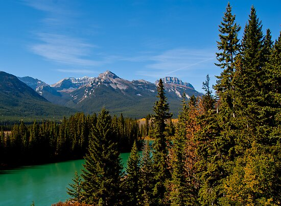 Bow Valley Parkway by Keri Harrish