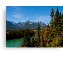 Bow Valley Parkway Canvas Print