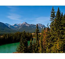 Bow Valley Parkway Photographic Print