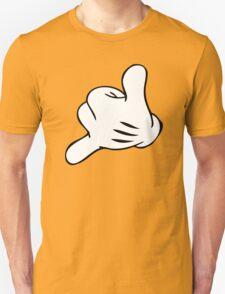 Funny Surf fingers - Shaka hand T-Shirt