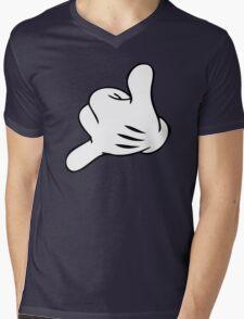 Funny Surf fingers - Shaka hand Mens V-Neck T-Shirt
