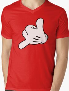 Funny Surf fingers - Shaka hand Mens V-Neck T-Shirt