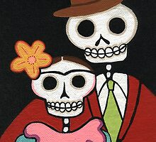 Two Skelly Artists by Pink-Ivy