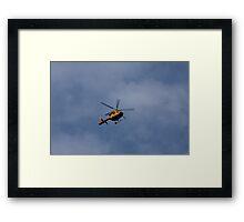 Air Ambulance Framed Print