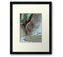 SUSPECT TRACES  Framed Print