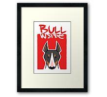 Bull inside Framed Print