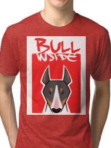 Bull inside Tri-blend T-Shirt