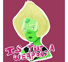 """""""Is that a Weapon?"""" Photographic Print"""