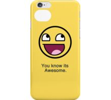 Awesome Face iPhone 4 Cover iPhone Case/Skin