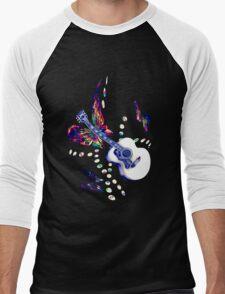 Butterfly Guitar2 Men's Baseball ¾ T-Shirt