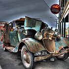 Old Ford Ute by Leigh Monk