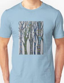 Psychedelic trees Unisex T-Shirt