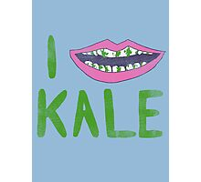 I Heart Kale Photographic Print
