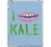 I Heart Kale iPad Case/Skin