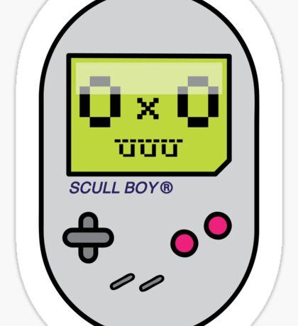 SCULL BOY TEE Sticker