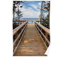 Twelvemile Beach Scenic Overlook Poster