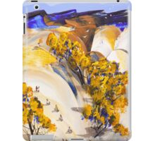 Race to the valley iPad Case/Skin