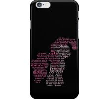 My Little Pony - Pinkie Pie Typography iPhone Case/Skin