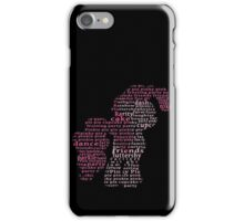 My Little Pony - Pinkie Pie Typography iPhone Case/Skin