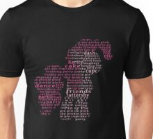 My Little Pony - Pinkie Pie Typography Unisex T-Shirt