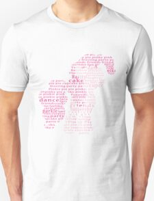 My Little Pony - Pinkie Pie Typography Unisex T-Shirt