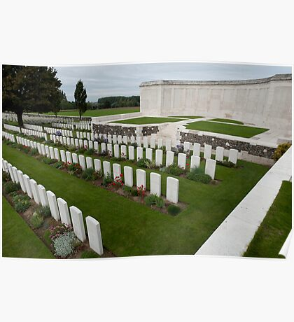 Tyne Cot Commonwealth War Graves Cemetery Poster