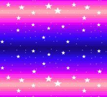Pixel Star Gradient Sticker