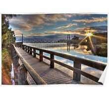 Lorne Swing Bridge Poster
