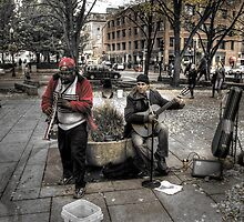 Musicians at Faneuil Hall by SPPhotography