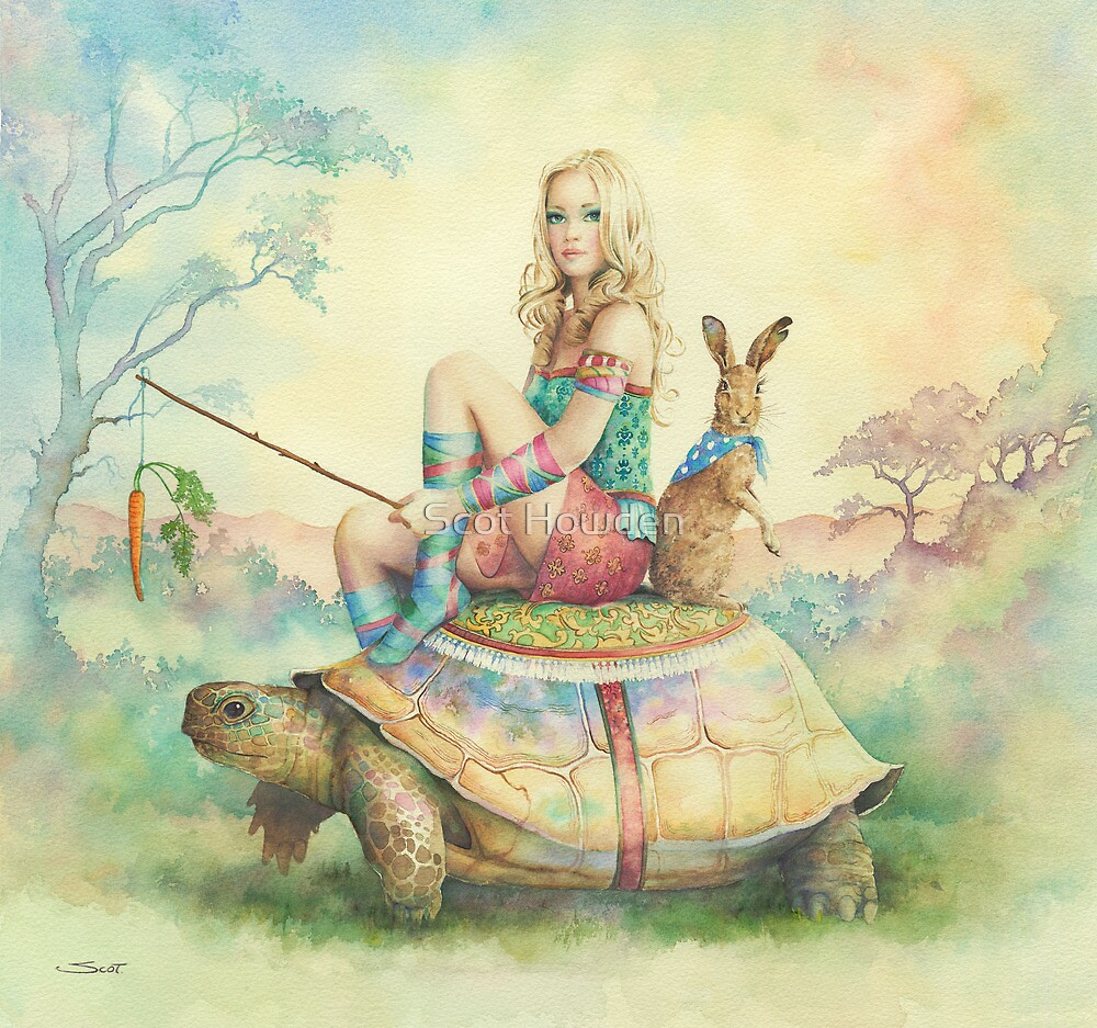 The Tortoise and the Hare by Scot Howden