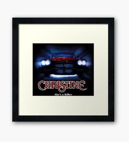 Awesome Movie Car Christine Framed Print