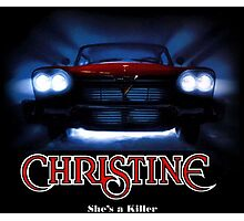 Awesome Movie Car Christine Photographic Print