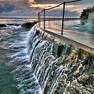 Dawn dip at Bronte Ocean Baths by Ian Berry