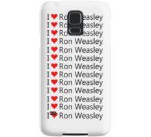 I Love Ron Weasley Samsung Galaxy Case/Skin
