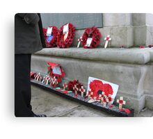 REMEMBERANCE DAY Canvas Print