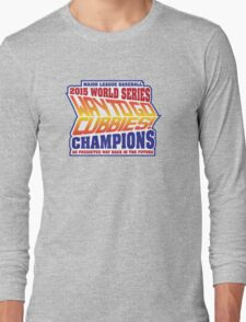 Chicago Cubs World Series Champions - Back to the Future  Long Sleeve T-Shirt