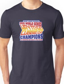 Chicago Cubs World Series Champions - Back to the Future  Unisex T-Shirt